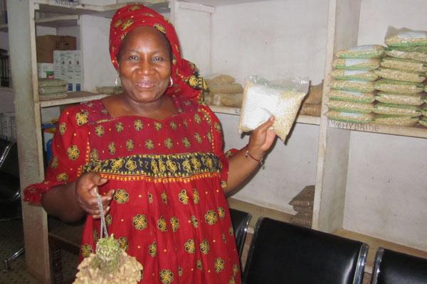 Malian woman seed producer
