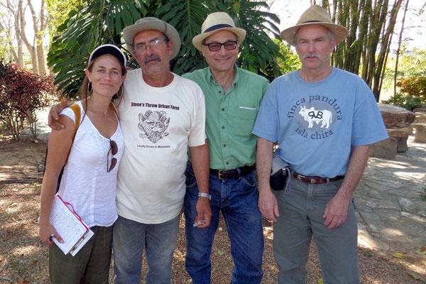 Winrock volunteers