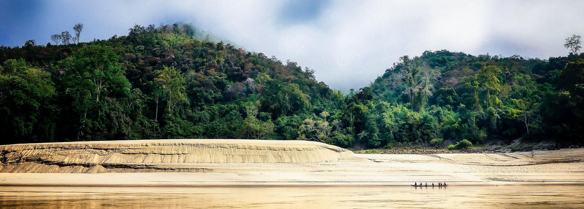 Laos Shoreline