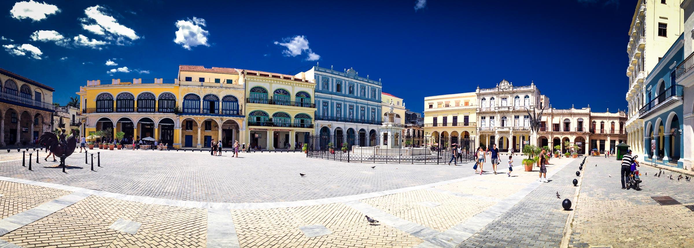 Plaza in Havana