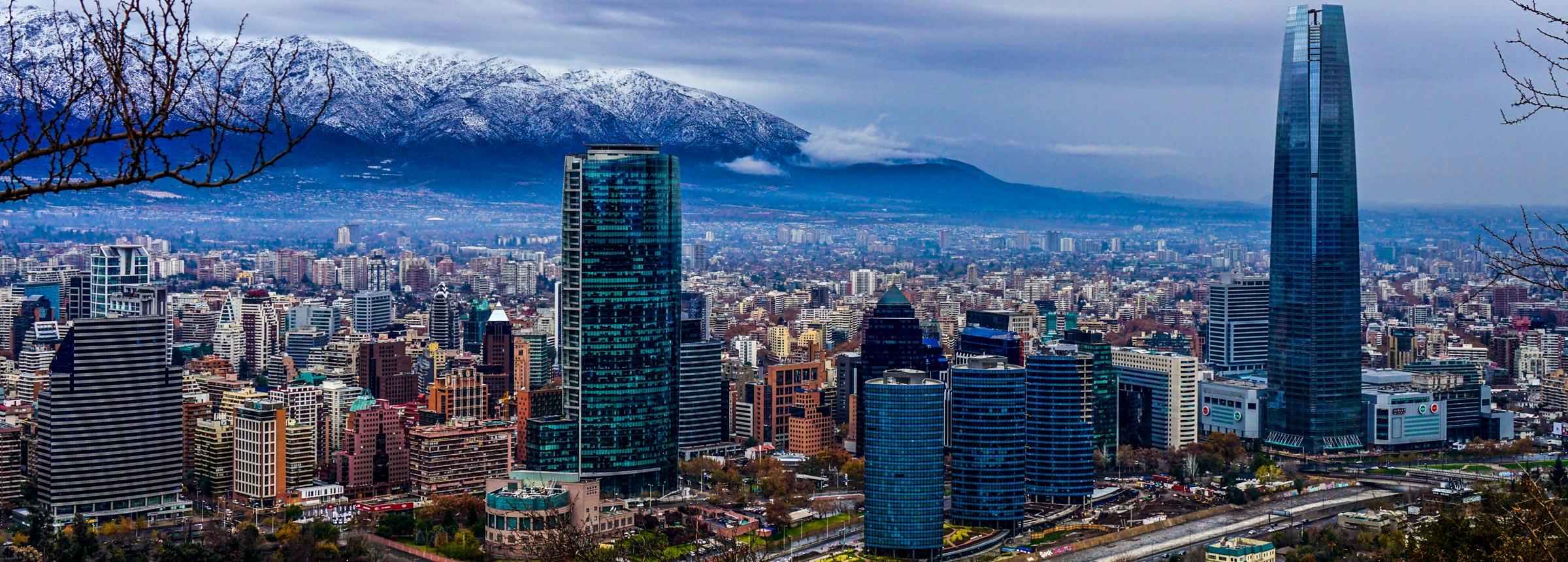 Chilean skyline