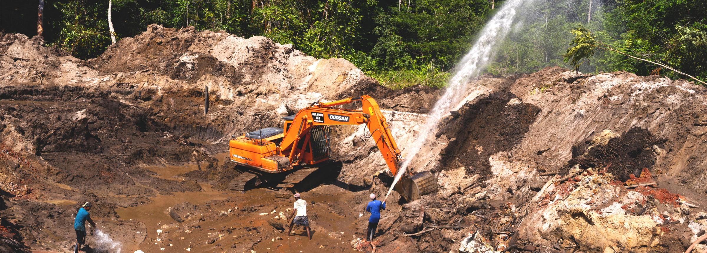 Guyana construction site
