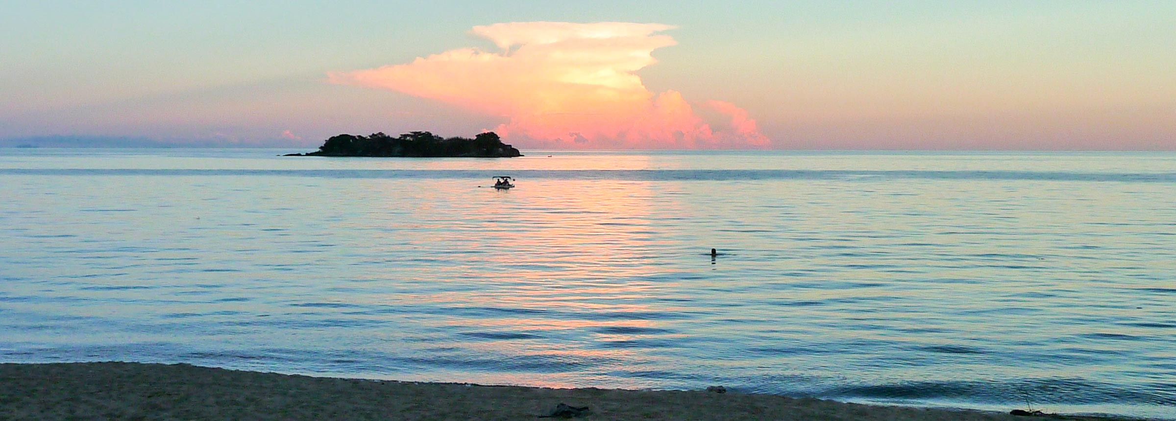 Malawi lake Victoria sunset