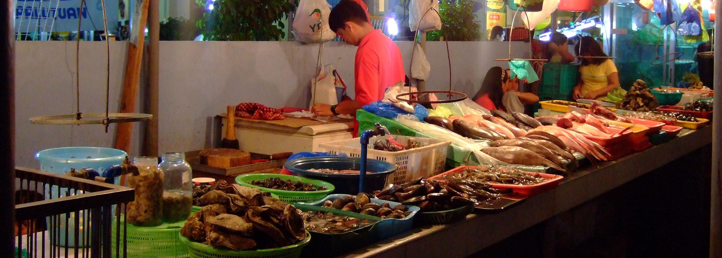Philippines fish market