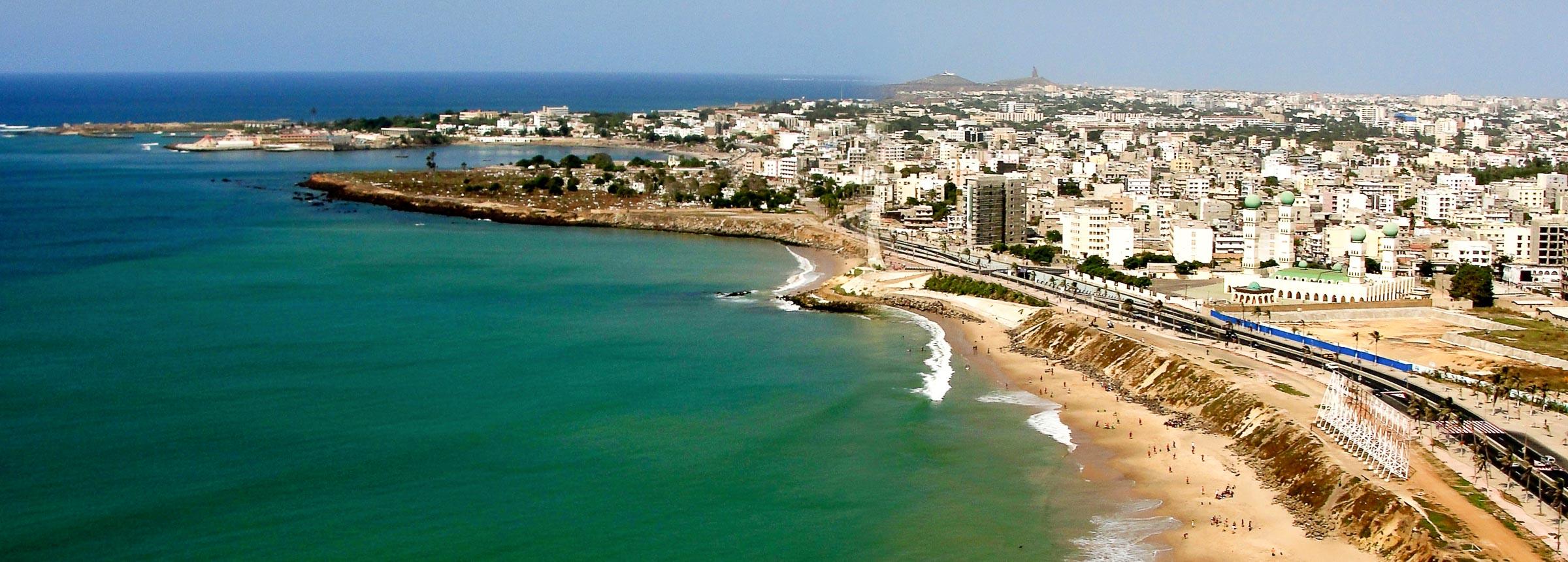 Dakar coastline