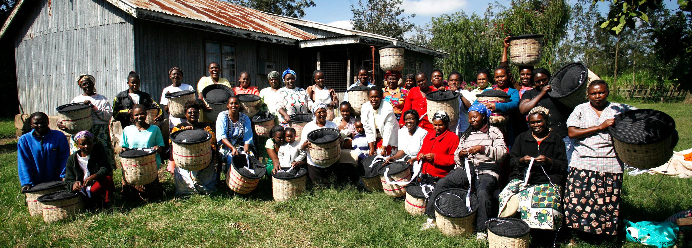 African Basket weavers