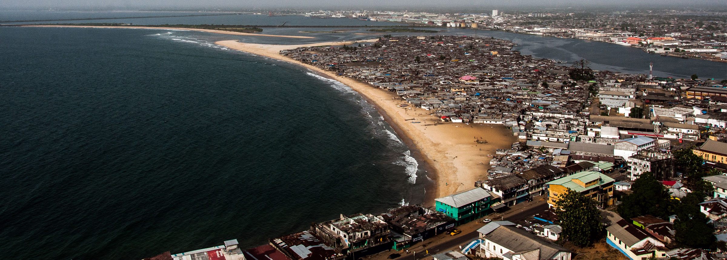 Liberia coastline