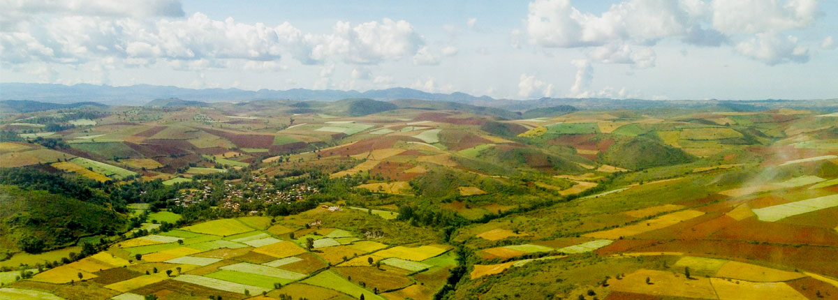 Burma Southern Shan from above