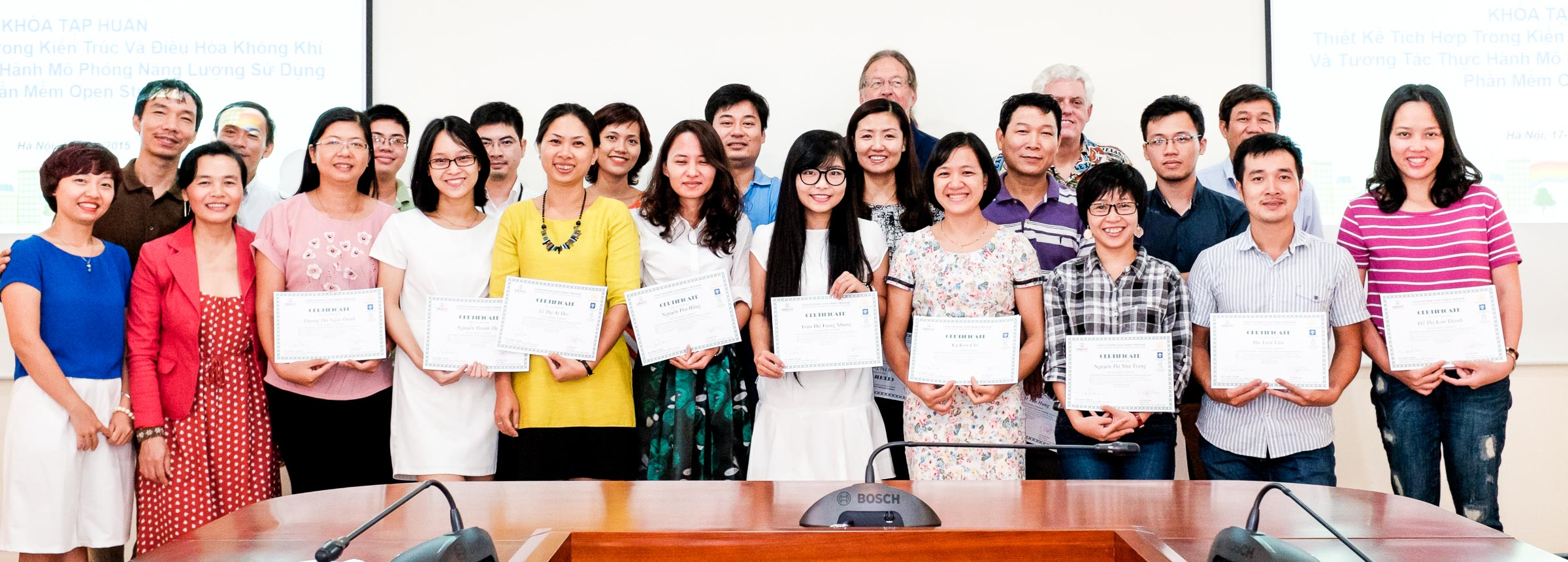 VCEP Training participants