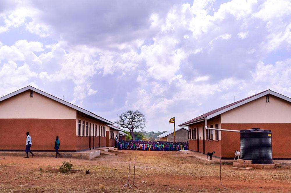 Uganda school building