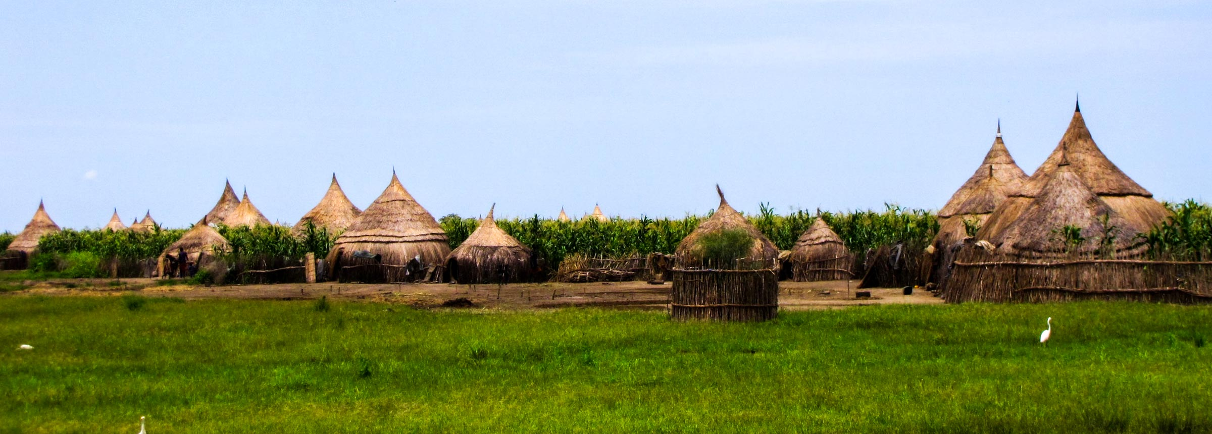 South Sudan huts