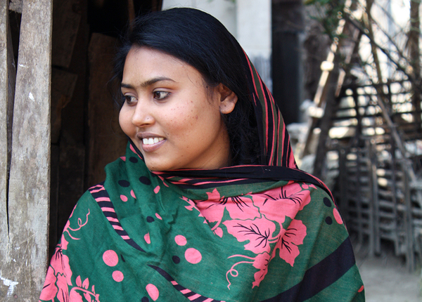 Through the ACT project, Soheli received psychological support, counseling, life skills training, and entrepreneurship training.