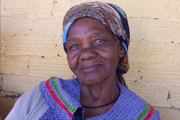 Elsie is a grandmother caring for three grandsons, two of whom have been orphaned.