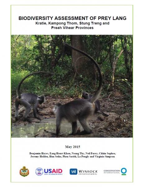 Final Biodiversity Assessment Report of Prey Lang