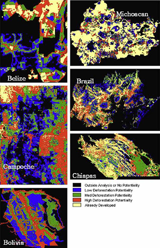 Baselines for Land-use Change in the Tropics-Application to Avoided Deforestation Projects