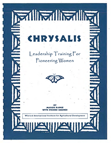 Leadership for Change: Chrysalis Leadership Training for Pioneering Women