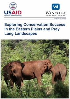 Exploring Conservation Success in the Eastern Plains and Prey Lang Landscapes, Volume 2