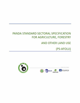 Sectoral Specification for Agriculture, Forestry, and Other Land Use-Panda Standard