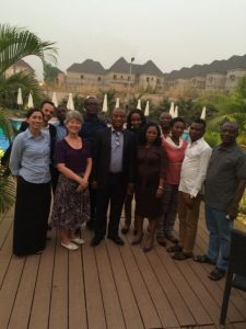 Winrock's F2F team in Nigeria