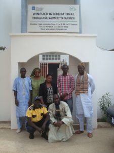 the F2F team in Senegal