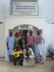 the F2F team in Senegal