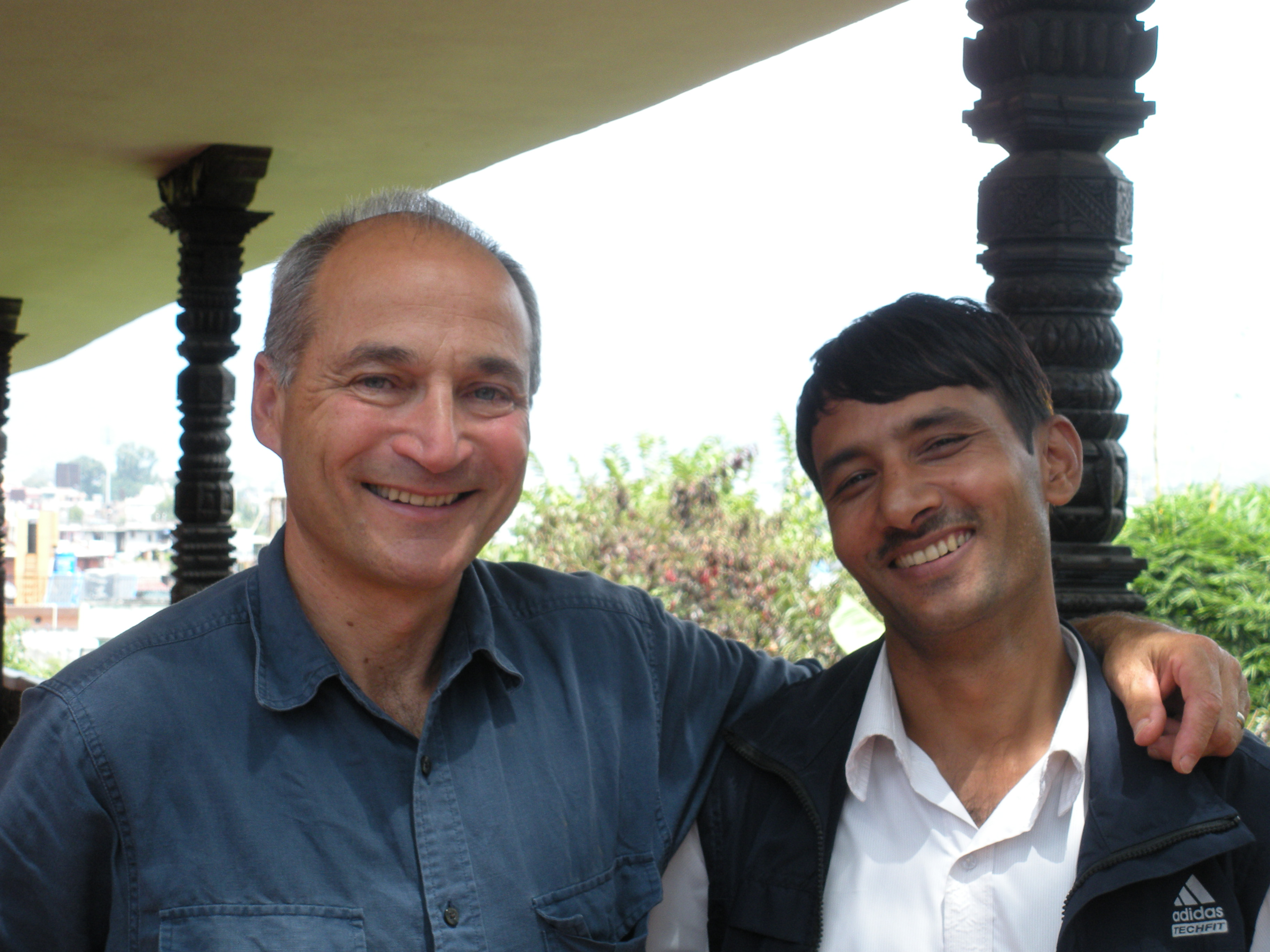 mr-howard-with-his-trainee-after-6-year-in-kathmandu