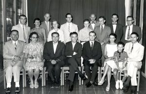 1959 - Bandung, Indonesia - First A/D/C Staff conference - group portrait with families.