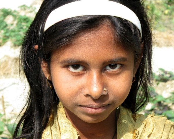 The daughter of a beneficiary is now able to attend school five days a week