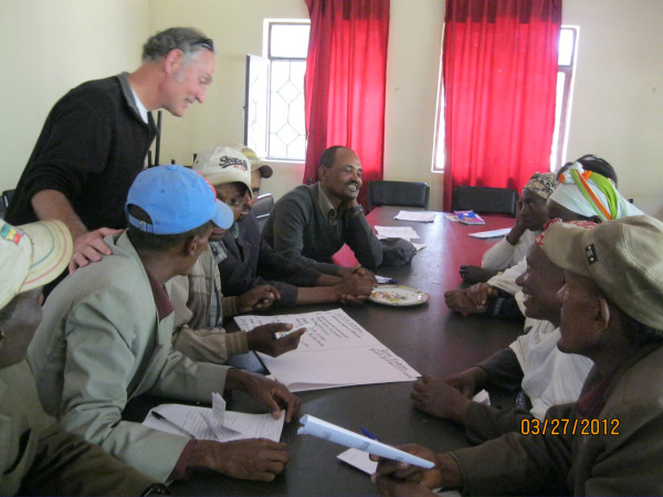 David Pearce in Ethiopia