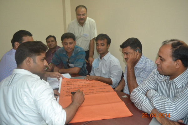 Leading a participatory training session