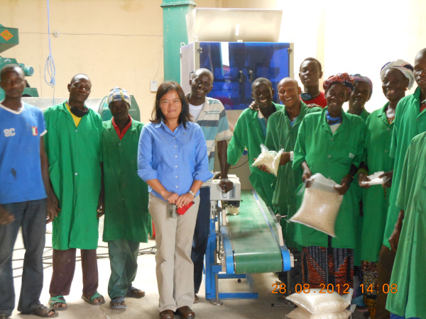 Stella and the men and women who received her training and technical assistance