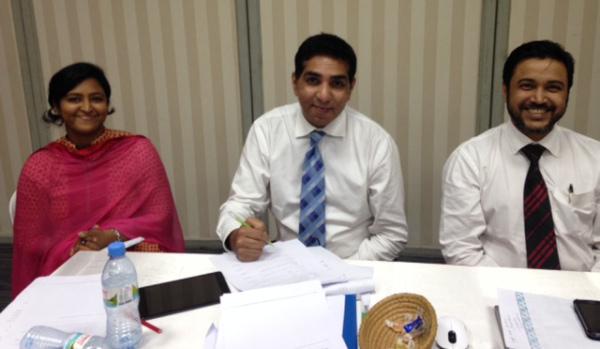 Training participants at ACI Agribusiness