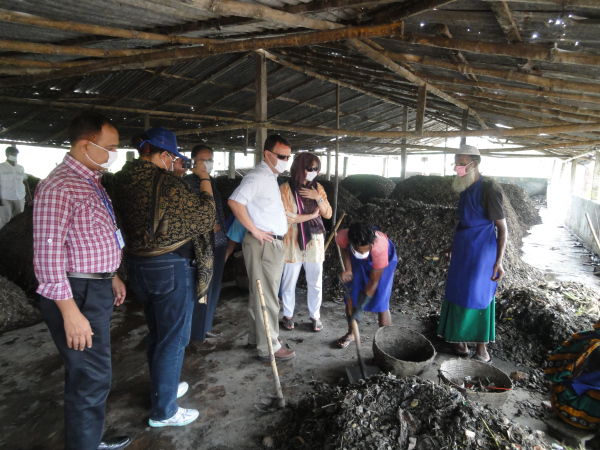 Examining composting at RUSTIC