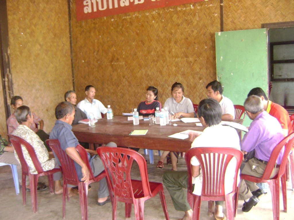 Cambodia-Laos (The JDR Laos research team surveying villagers in Laos 2).jpg