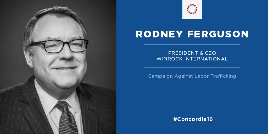 @ConcordiaSummit Twitter: @rodneyferguson will take part in #LaborTrafficking campaign dialogue at the @Concordia16