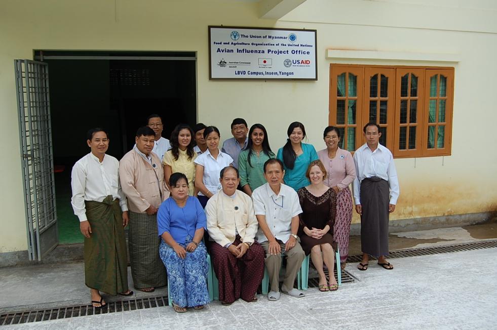 The JDR 3RD Burma Avian Influenza research team