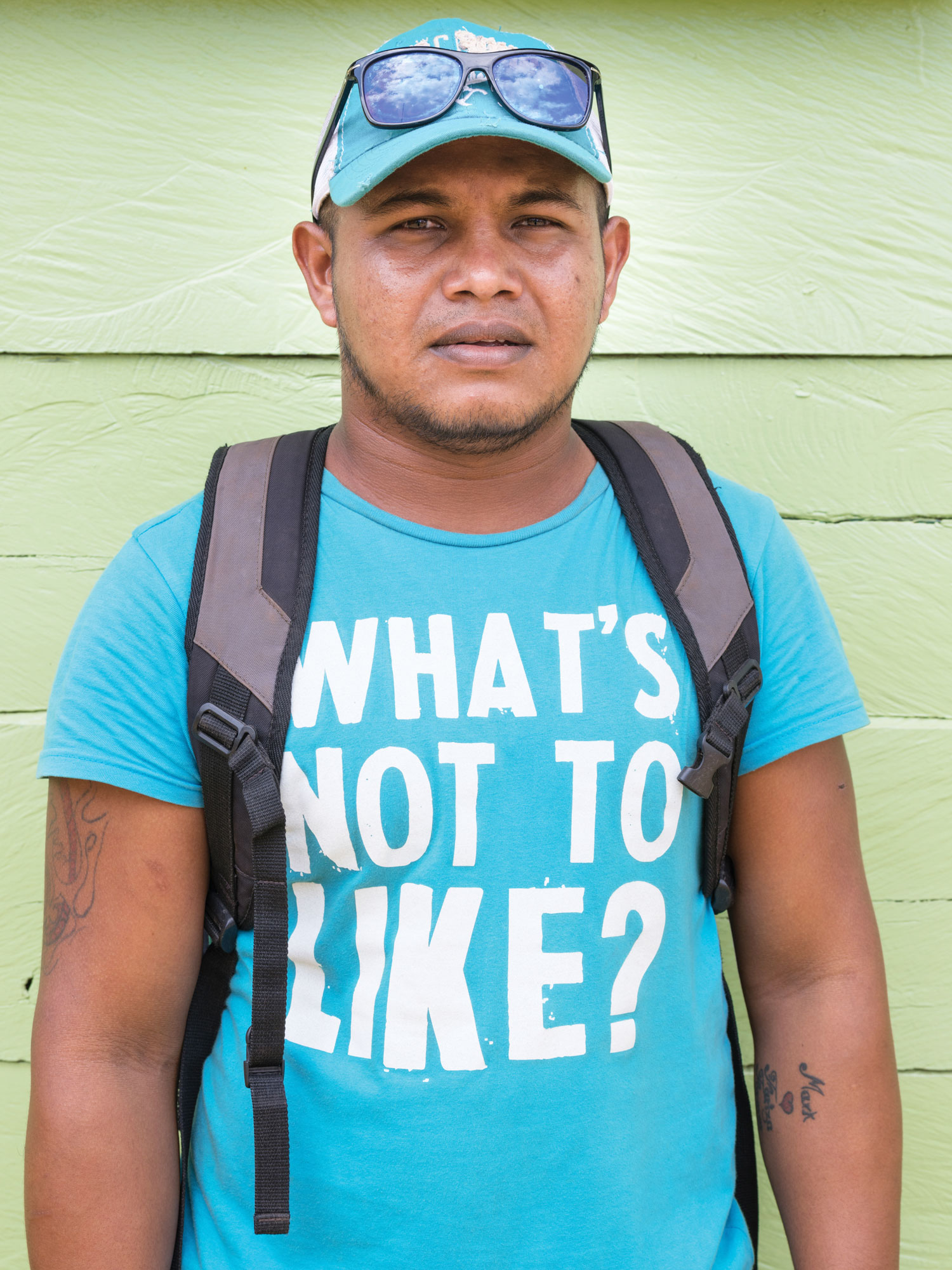 Nick Thomas is a gold miner in Guyana, where Winrock is helping the Forestry Commission develop a national carbon monitoring system. Photo by Lucas Foglia