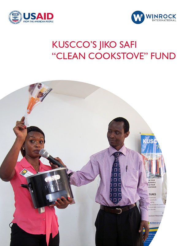 KUSCCO's Jiko Safi Clean Cookstove Fund