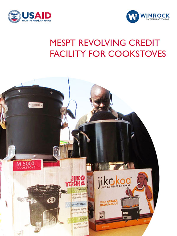 MESPT Revolving Credit Facility for Cookstoves