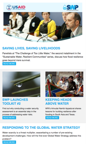Winrock International » Water Security